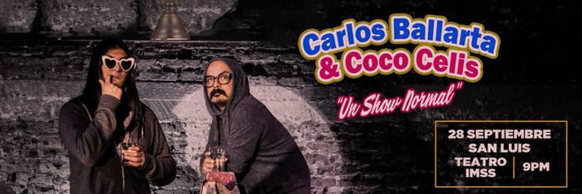 Carlos Ballarta y Coco Celis