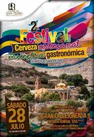 28 Julio Festival cerveza Cerro San Pedro