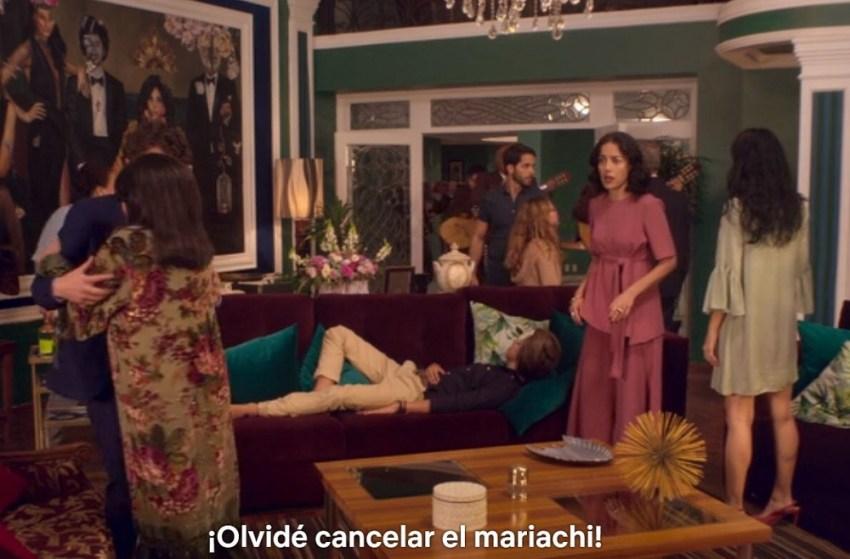 La casa de las flores Netflix SLP