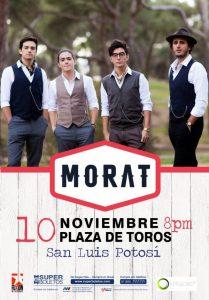 MORAT de regreso a San Luis Potosi @ Plaza de toros | San Luis Potosí | San Luis Potosí | México