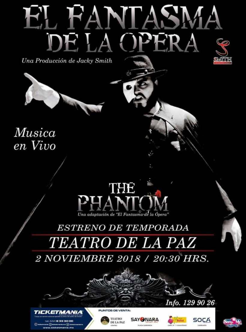 Fantasma de la Ópera SLP