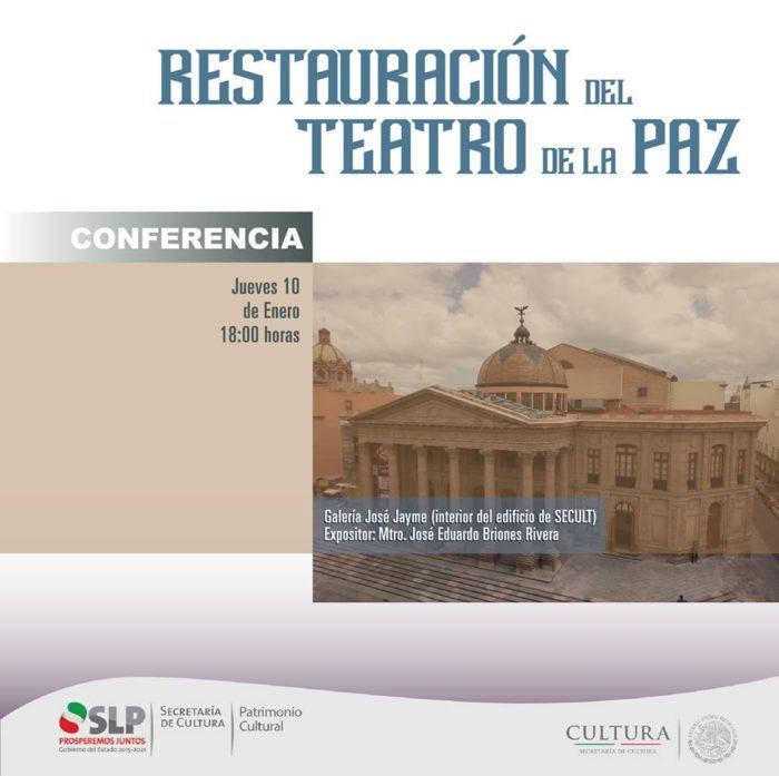 Conferencia restauración teatro de la paz