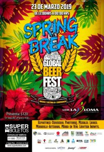 Global Beer Festival: Spring Break 2019 @ La Loma Centro Deportivo