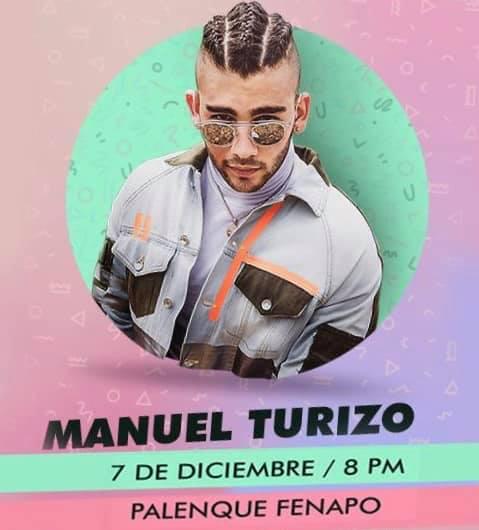 7 Diciembre Manuel Turizo