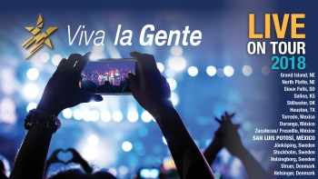 Viva la Gente Live On Tour 2018 @ Teatro de la Ciudad | San Luis Potosí | San Luis Potosí | México