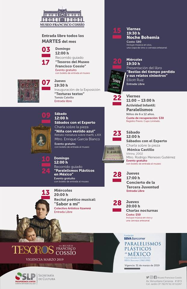 Febrero Museo Francisco Cossio