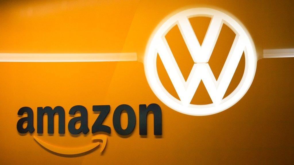 ¡Conectados! Volkswagen y Amazon se unen para trabajar juntos