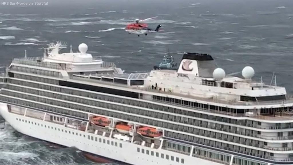 ¡Fallan motores y con mal tiempo! Ordenan evacuar crucero con 1,300 personas