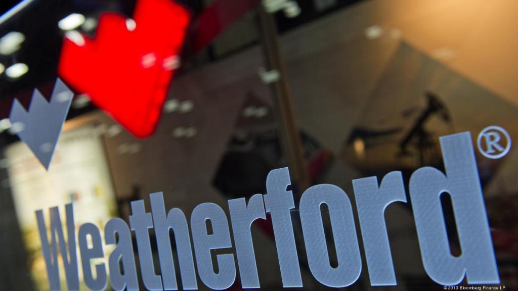 ¡Quebrada! Weatherford empresa de servicios petroleros se declara en bancarrota