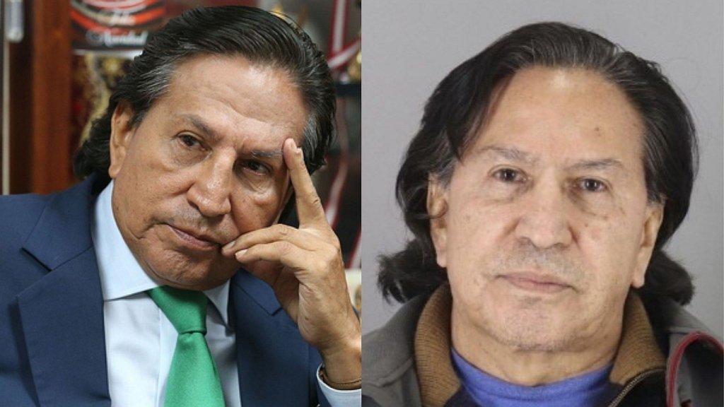Alejandro Toledo ex presidente de Perú es detenido por caso Odebrecht