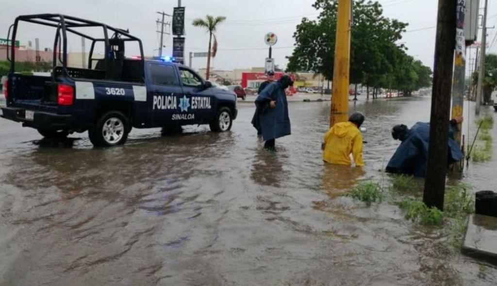 Tormenta tropical Ivo provoca intensas lluvias en el Noroeste de México