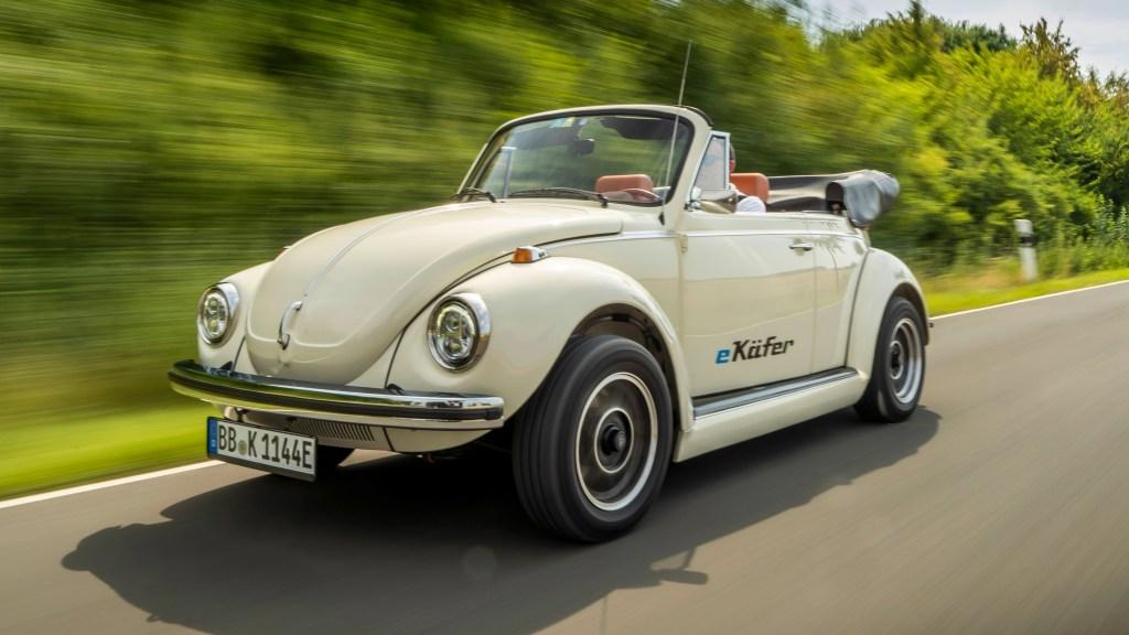 Volkswagen anuncia el regreso del Vocho…. pero eléctrico