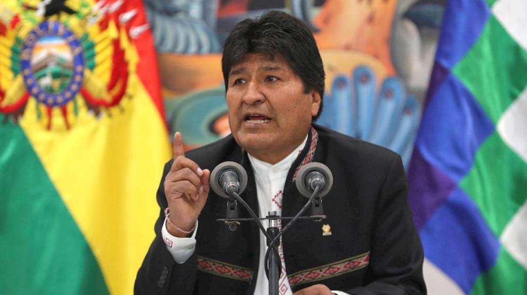 Quieren dar golpe de Estado en Bolivia denuncia Evo Morales y declara estado de emergencia