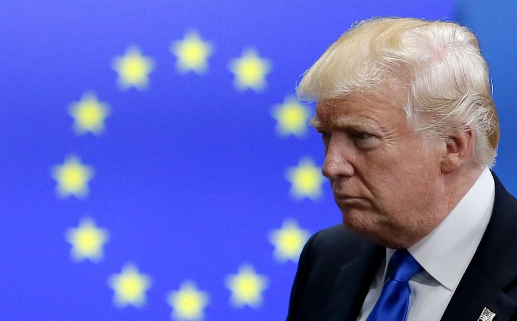 Entran en vigor sanciones comerciales de Estados Unidos contra Europa, Trump impone aranceles
