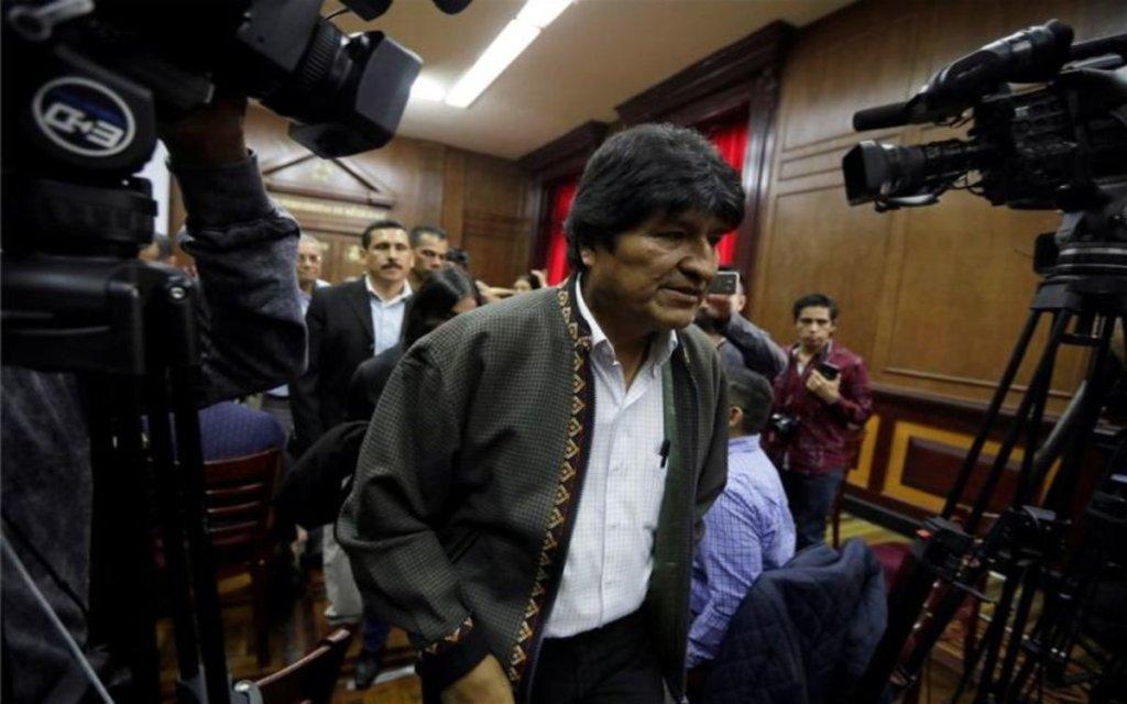 Evo Morales salió de México con destino a Cuba, quiere instalarse en Argentina