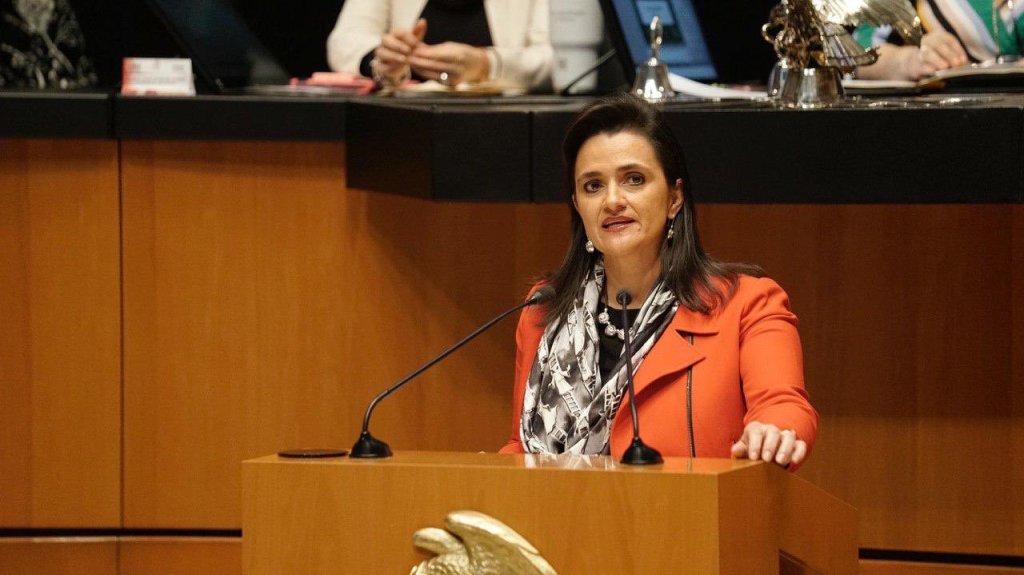 Margarita Ríos-Farjat es electa por el Senado ministra de la Suprema Corte de Justicia