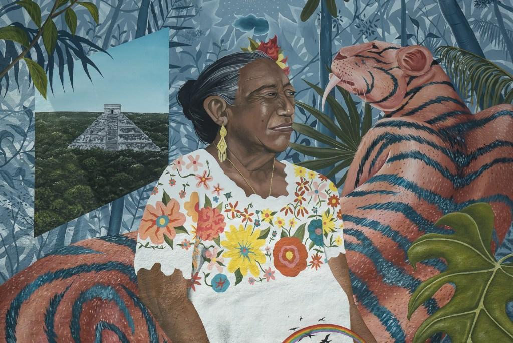 Rodada Pionera que nos lleva a descubrir murales urbanos llenos de vida y color en Cancún