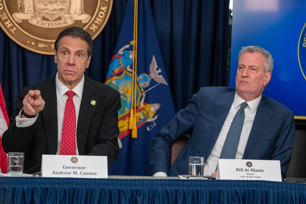 Decretan a Nueva York en cuarentena, alcalde y gobernador piden intervenga la Guardia Nacional