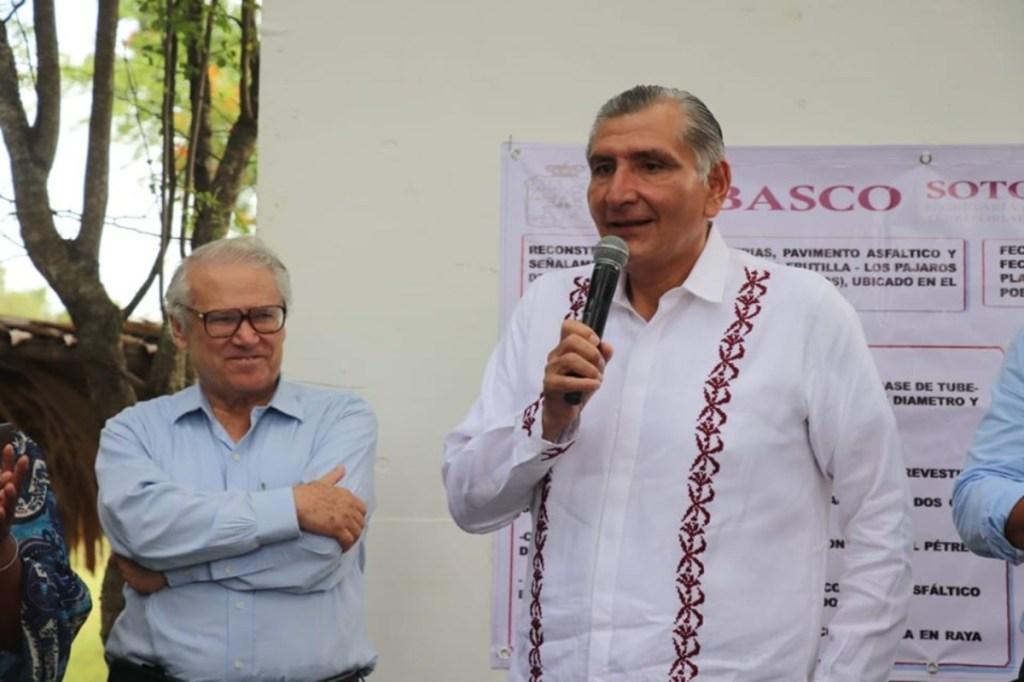 Otro gobernador dio positivo de Coronavirus, ahora fue Adán Augusto López de Tabasco