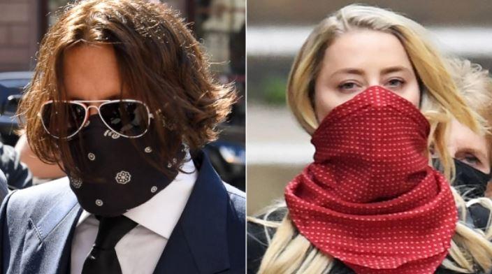 Así fue el reencuentro entre Johnny Depp y Amber Heard ante los tribunales
