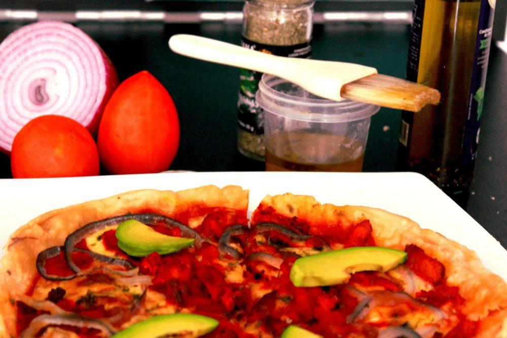 Gastronómads: Pizza de Pastor fermentada con cerveza por el Chef Manu Escobar
