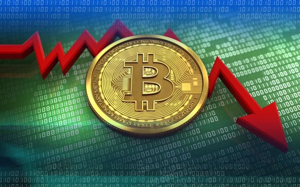 El precio del Bitcoin se desploma 9.4% y hunde a las demás criptomonedas