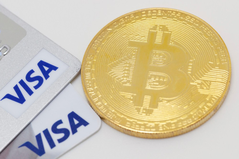 VISA anuncia que aceptará pagos con criptomonedas