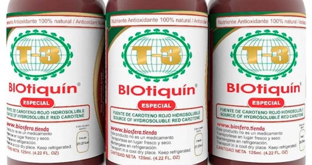 ¡Ojo! El producto milagro Biotiquín no cuenta con registro sanitario, alerta Cofepris no consumirlo