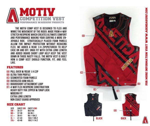 The AGENDA Motiv RZ Comp Vest is Awesome !!!