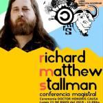 22 de Mayo – Richard Stallman en Tucumán sobre la temática del software libre