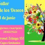 23 de Junio – Taller el Árbol de los Deseos