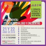 21 y 22 de Junio – II Jornada Regional de Psiquiatría y Salud Mental
