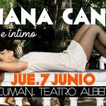 07 de Junio – Fabiana Cantilo