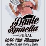 02 de Junio – Dante Spinetta en Tucumán | Club Shampoo