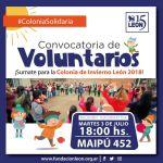 Fundación León convoca voluntarios para acompañar a niños con su Colonia de Vacaciones de Invierno