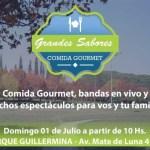 1 de Julio – Gran feria gourmet en el parque Guillermina