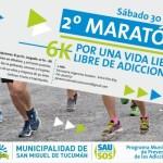 """30 de Junio – """"Segunda Maratón contra las drogas: Por una vida libre de Adicciones"""""""