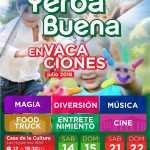 14, 15 y 21-22 de Julio – Yerba Buena en Vacaciones