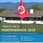 06 de Julio – Abierto de Damas de Golf- Día de la Independencia
