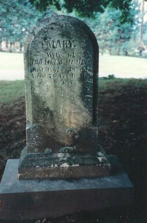 Mary Mumper, 1789-1866