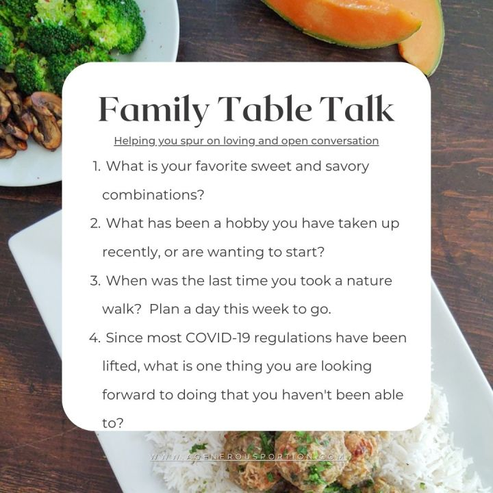 Questions for the family