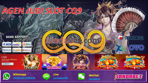 AGEN JUDI SLOT CQ9 INDONESIA