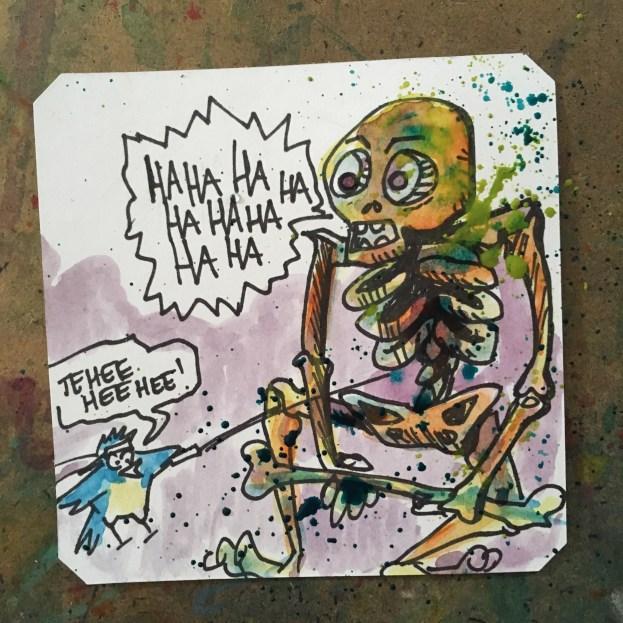 Skeleton ahead Rondo of Blood- Macaw