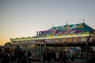 I love photographing old fair stuff