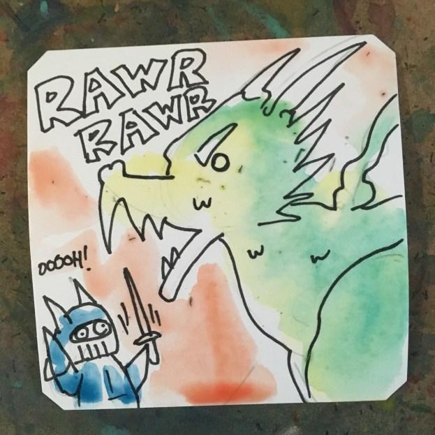 SRKFunkdoc Rawr Rawr Rawr poverty dragon ending