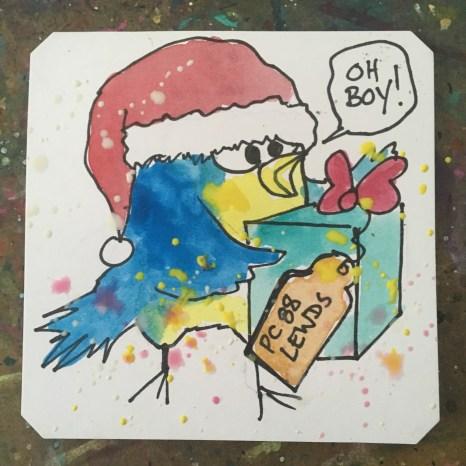 Christmas Birb! Merry Fishmas, @Macaw45 & chat!