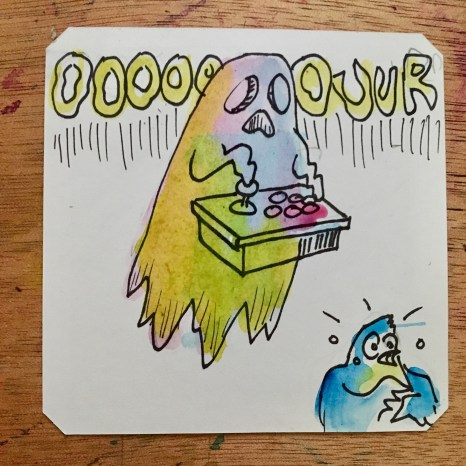 Ghost of Old Stick @Macaw45