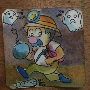 What am I doing? Spelunky @LordBBH
