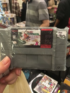 Dude who was selling Chrono Trigger was giving away the soap with the game