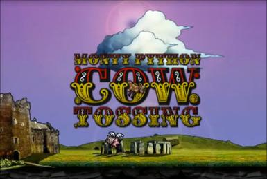 Dank Zine Monty Python Cow Tossing